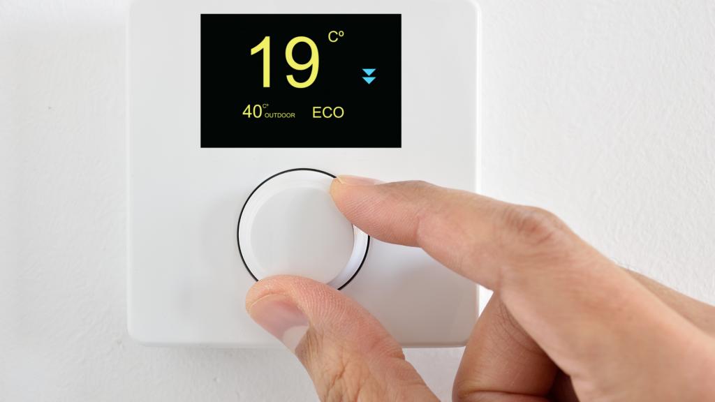 apagar calefacción de noche