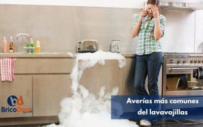¿Cuáles son las averías más comunes del lavavajillas?
